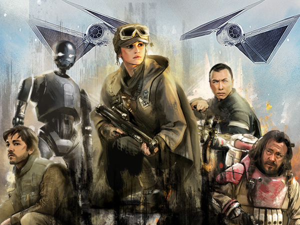 Rouge One: Boots on the Ground - Star Wars Arcade