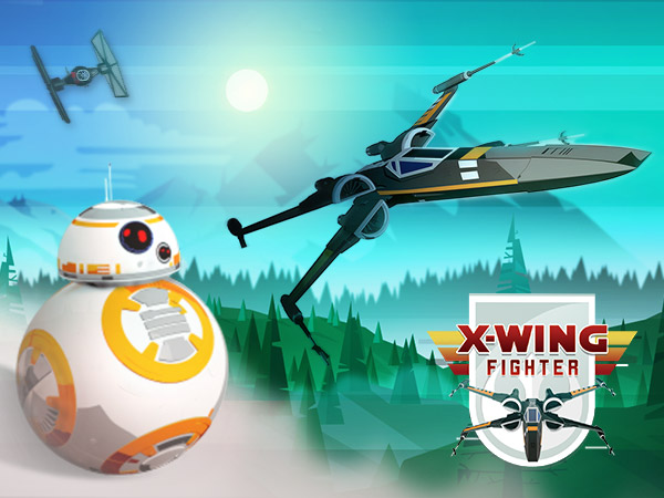 X-wing Fighter - Star Wars-Arkadspel