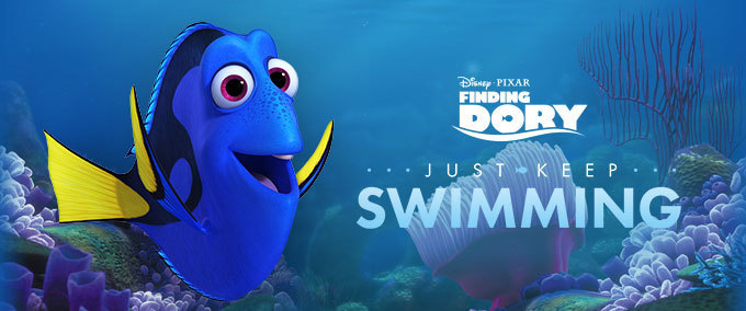 Speel 'Just Keep Swimming'