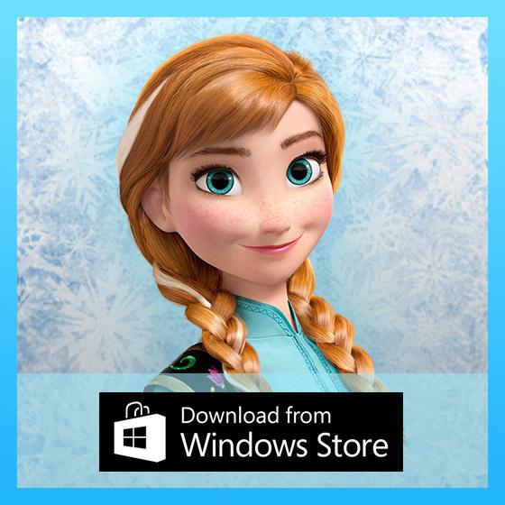 Frozen Free Fall - Windows Badge