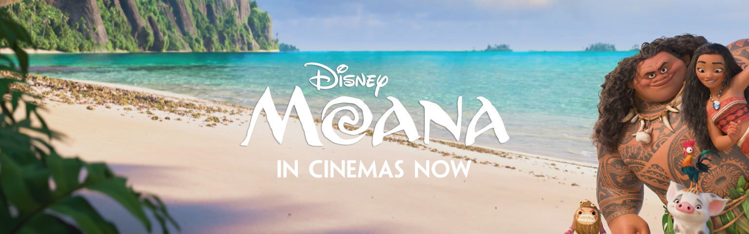 Moana - In Cinemas - Animated Flex Hero - SG