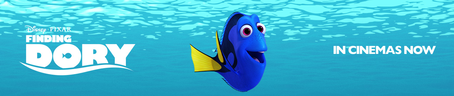 Finding Dory - In Cinemas - Animated Flex Hero (new)