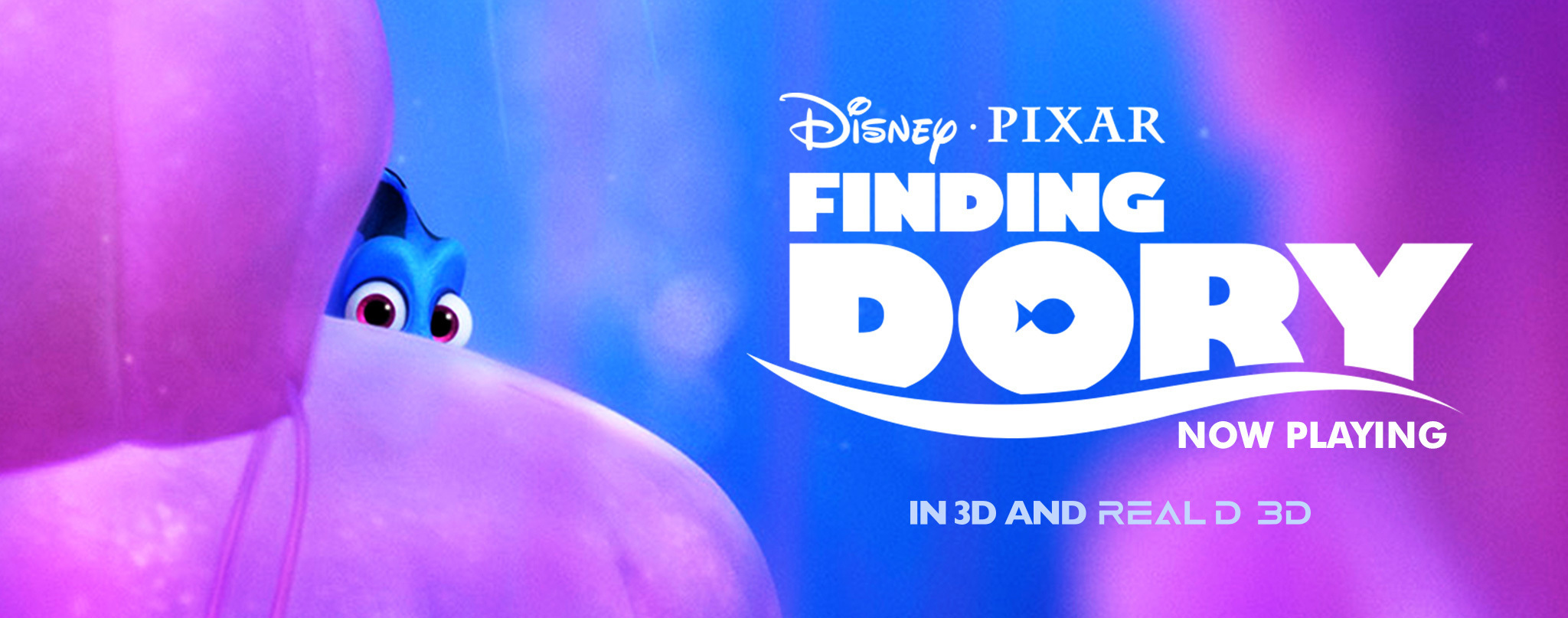 Finding Dory - Theatrical header - animated