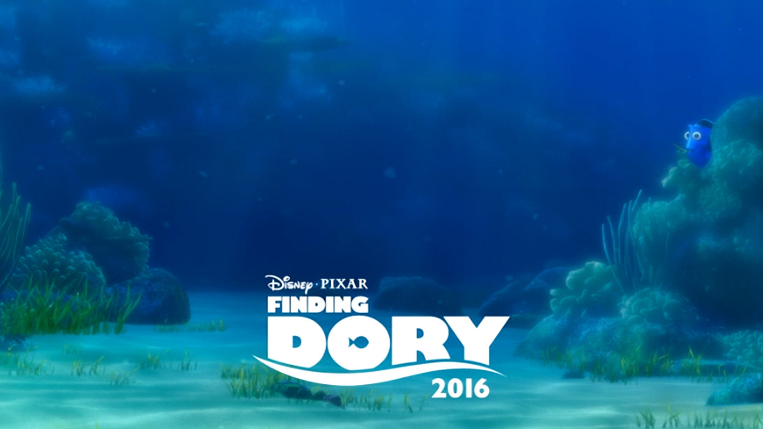 Finding Dory AU - Living Poster - Flex Hero