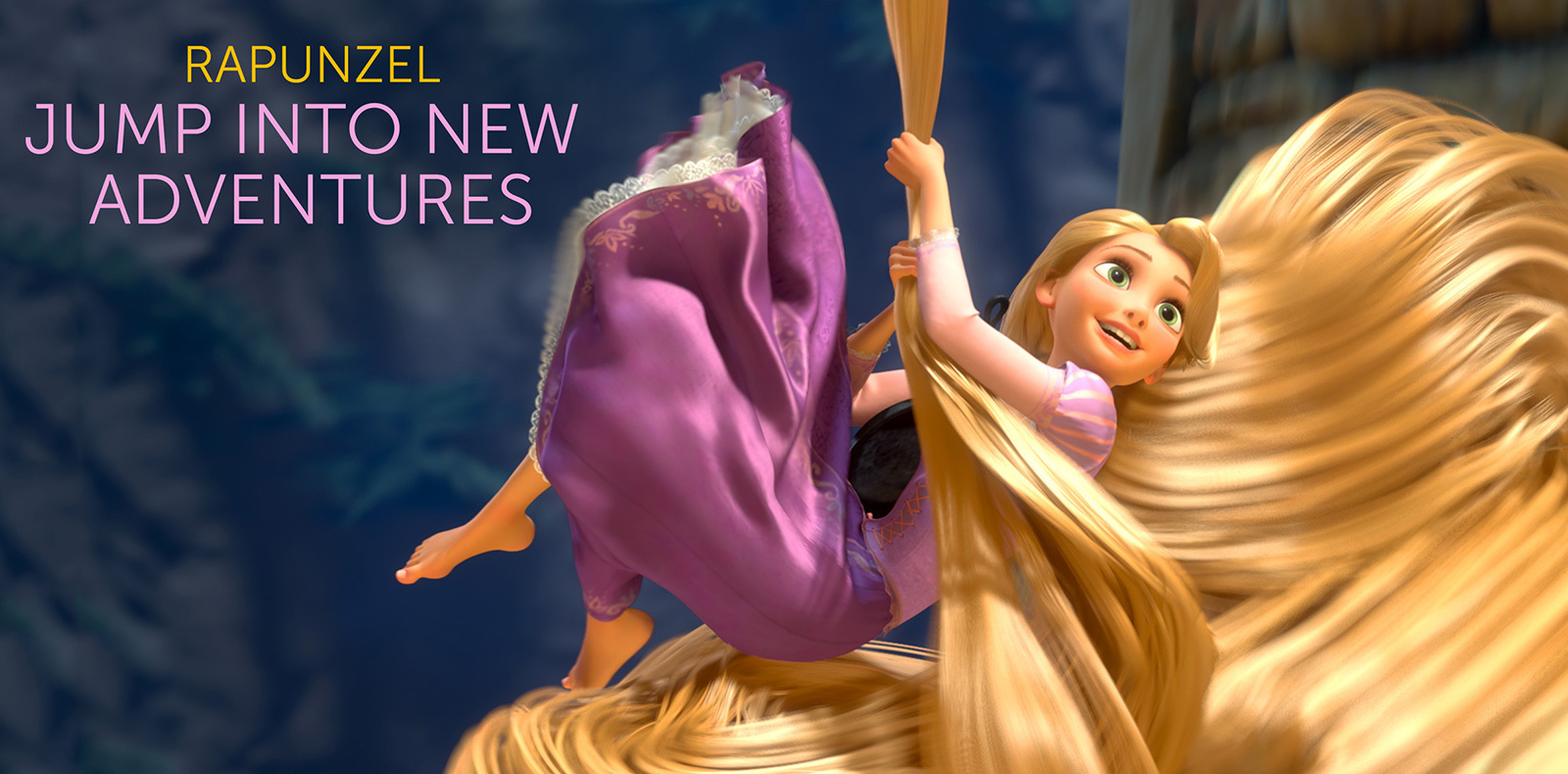 Princess AU - Rapunzel MOVIE ART 1