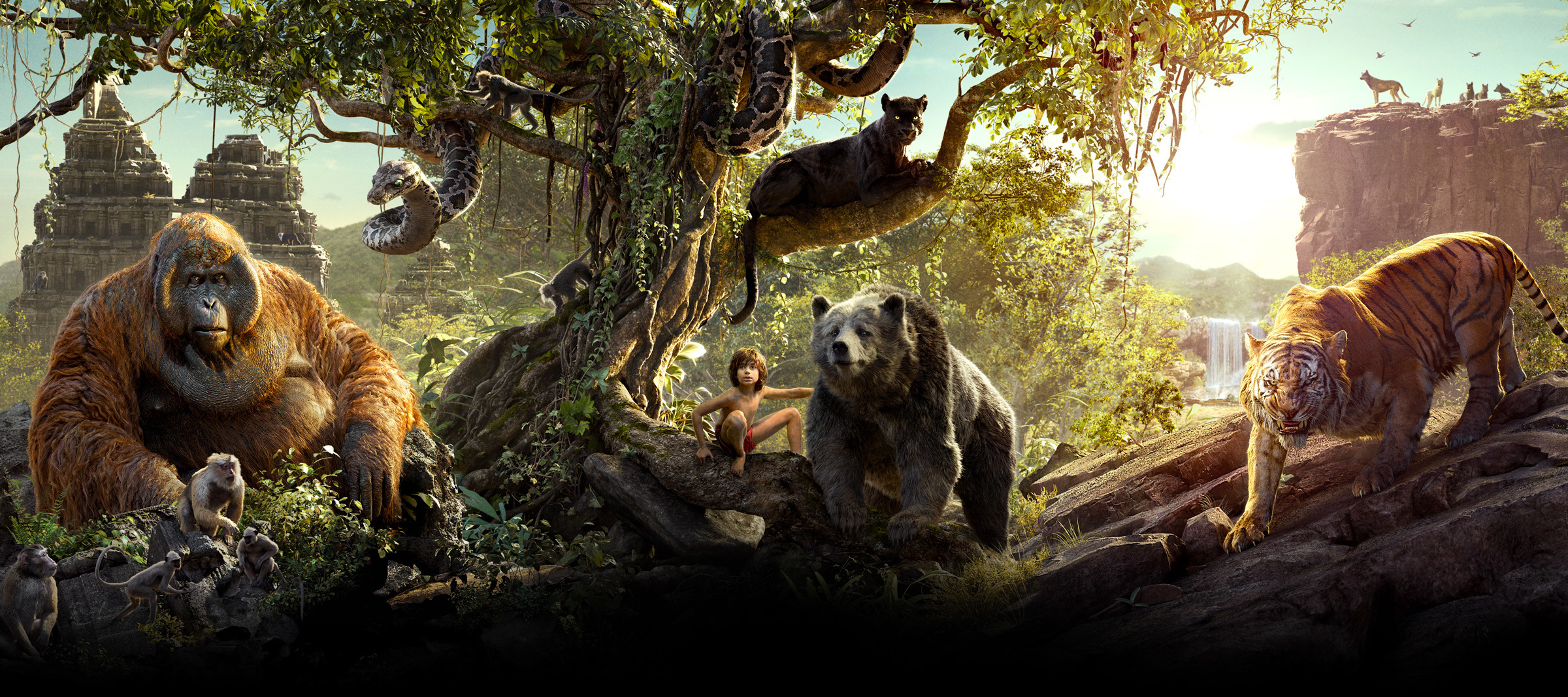 The Jungle Book 2016 - AU Flex Hero