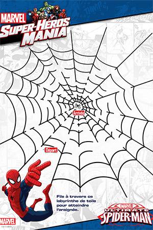 Cahier d'activités Spider-Man