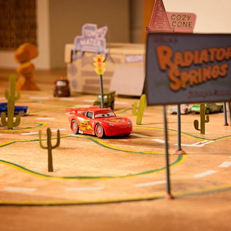 Radiator Springs-racebaan