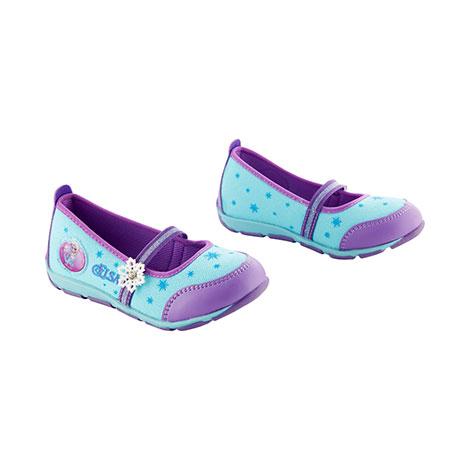Frozen Elsa Baby Balerina Shoes Purple