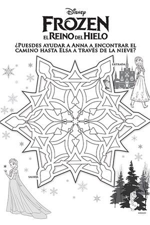 Laberinto Ana Y Elsa