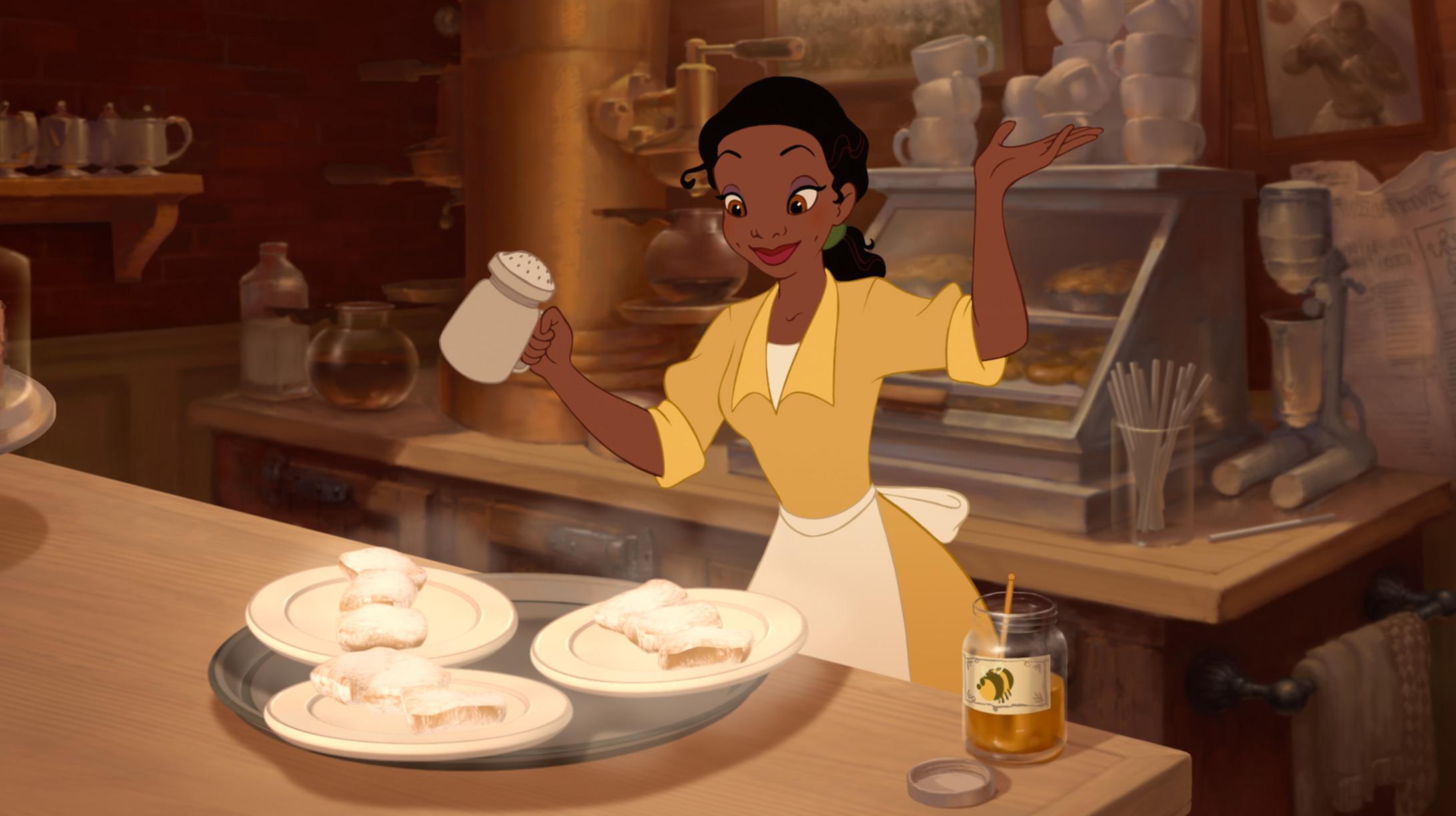 Tiana photo gallery disney princess for Animation cuisine