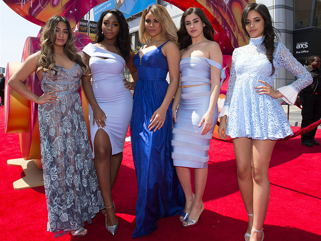 RDMA nominee Fifth Harmony always look fierce on the red carpet!