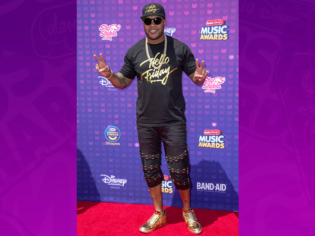 Flo Rida is ready to hit the RDMA stage!