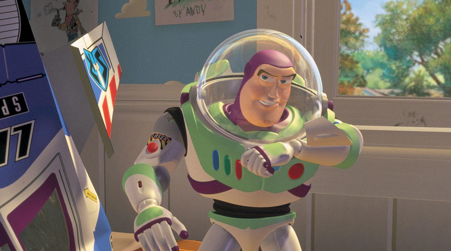 Buzz Lightyear Gallery Toy Story