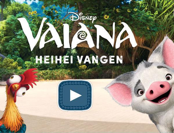 Vaiana - Heihei Vangen