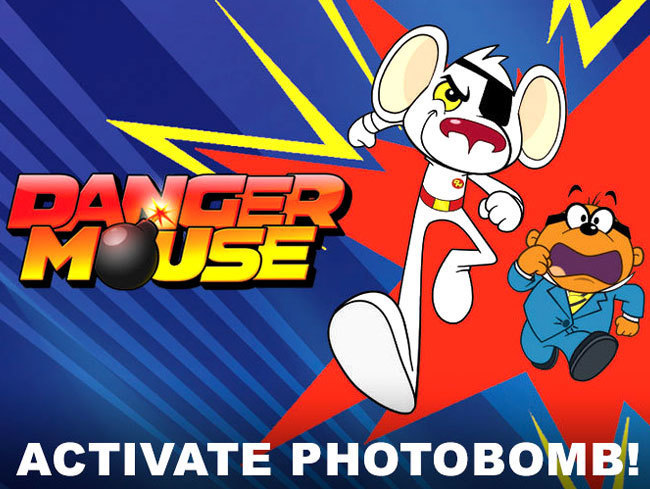 Danger Mouse Photo Bomb
