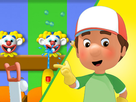 Handy Manny Carnival Games