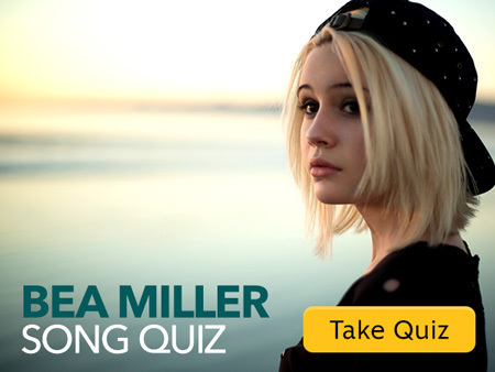 Quiz: Which Bea Miller Song Should You Sing Right Now?