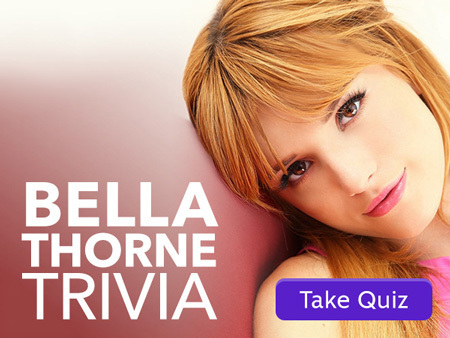 Quiz: How Well Do You Know Bella Thorne?