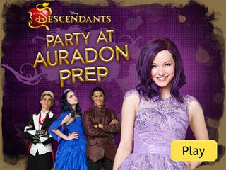 Disney Channel Halloween Games monstober zap Descendants Party At Auradon Prep