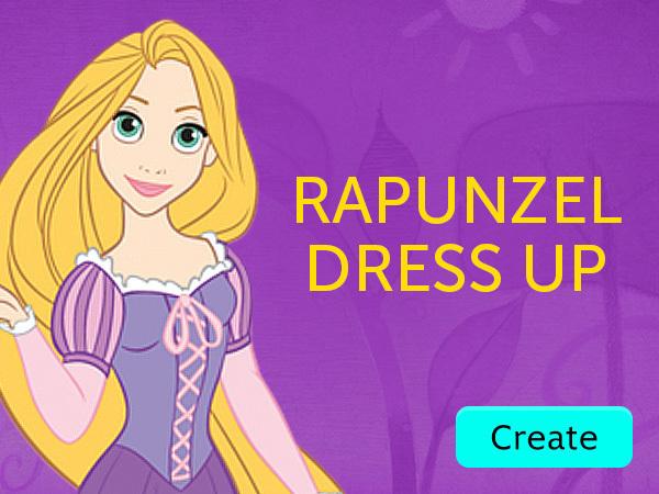 Rapunzel Dress UP GT