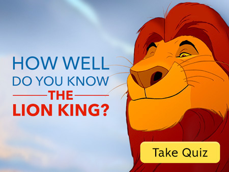 How Well Do You Know the Lion King?