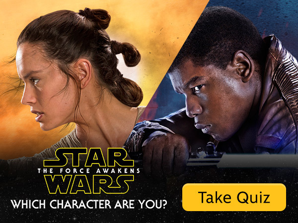 Which Star Wars: The Force Awakens Character Are You?