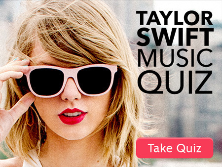 How Well Do You Know Taylor Swift's Music?