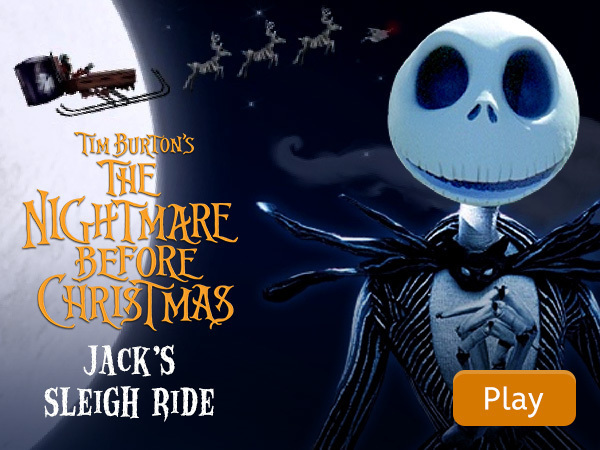 The Nightmare Before Christmas - Jack's Sleigh Ride