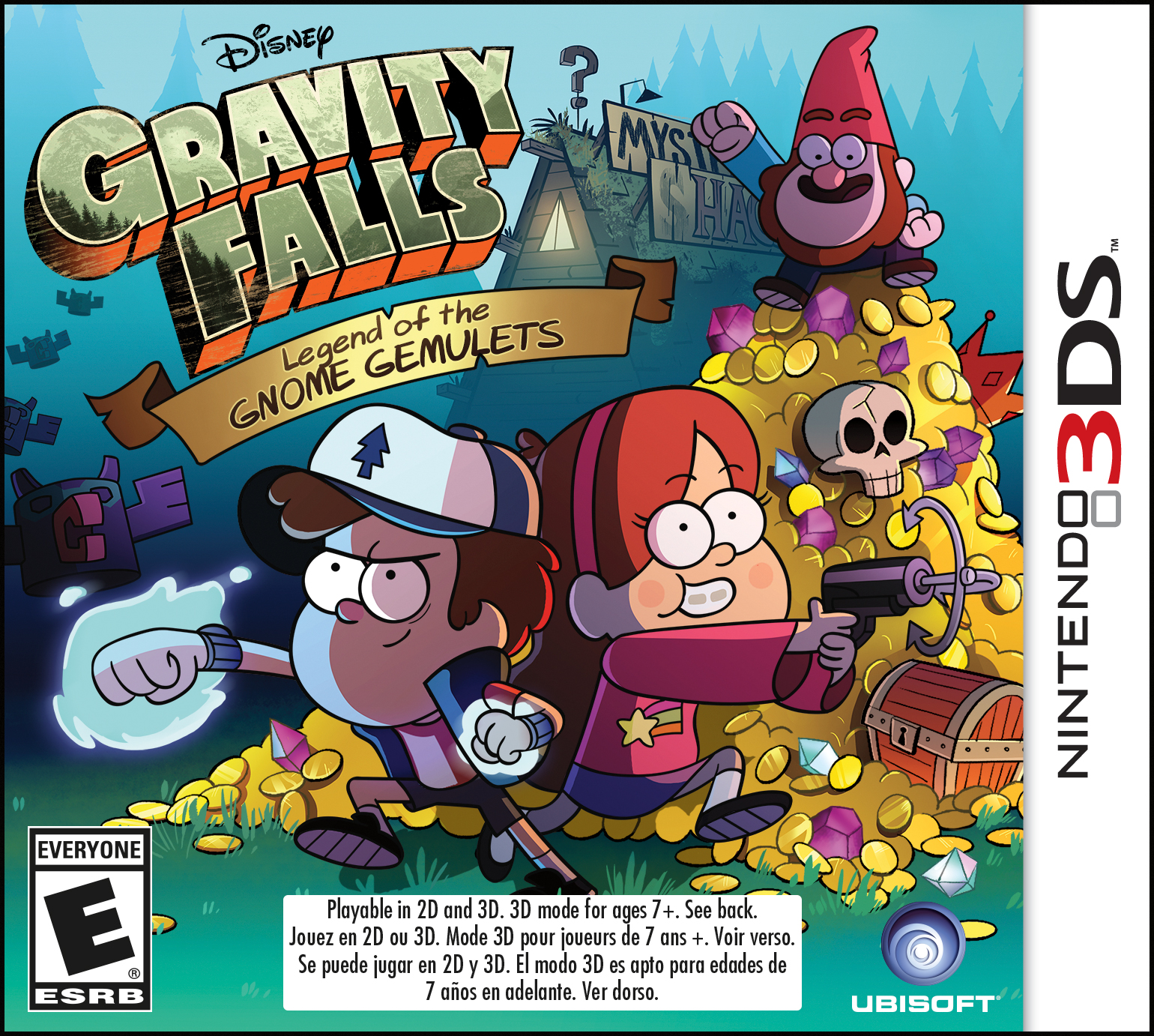 Gravity Falls: Legend of the Gnome Gemulets | Disney LOL