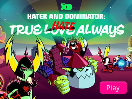 Hater and Dominator: True Hate Always