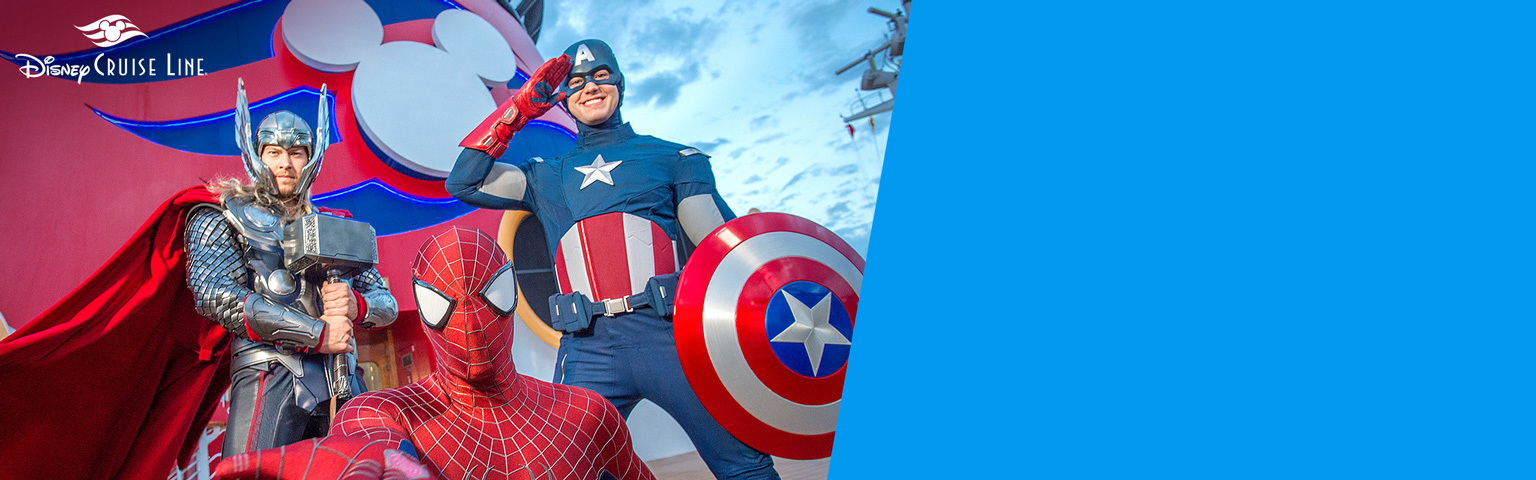 Disney Parks - DCL Marvel Day at Sea - Hero