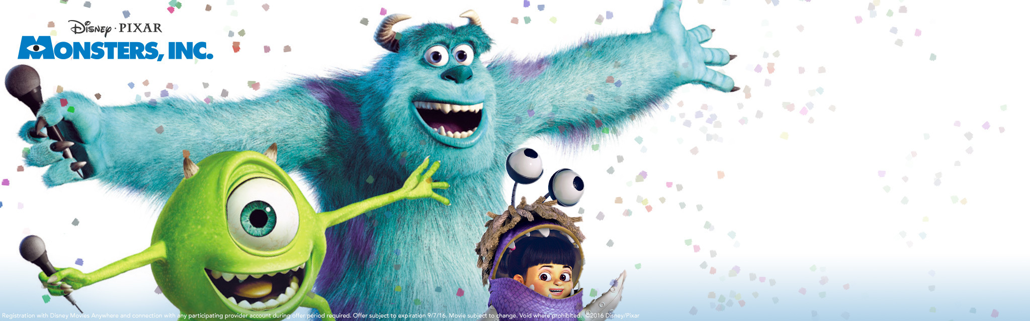 DMA - Monsters, Inc Offer - Hero