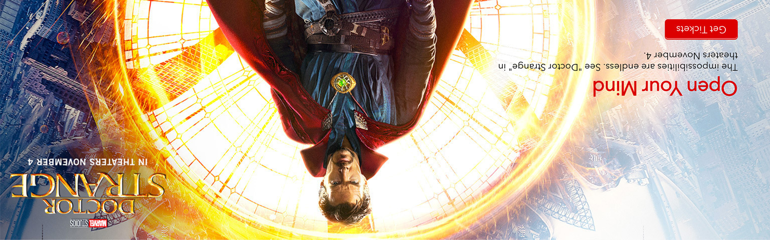 Doctor Strange - Upside Down - Hero