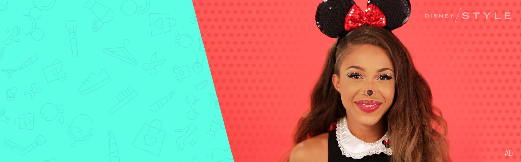 Disney Style - Minnie Mouse Time lapse tranformation - Hero