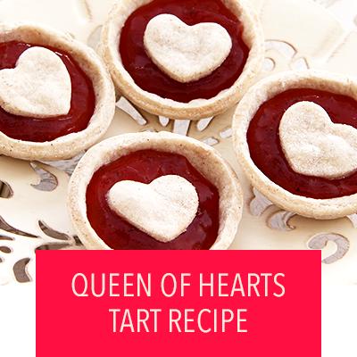 Queen of Hearts Tarts Recipe
