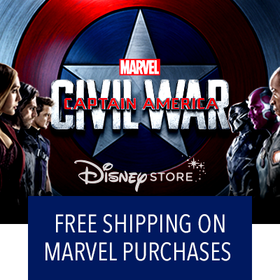 Free Shipping On Any Marvel Purchase