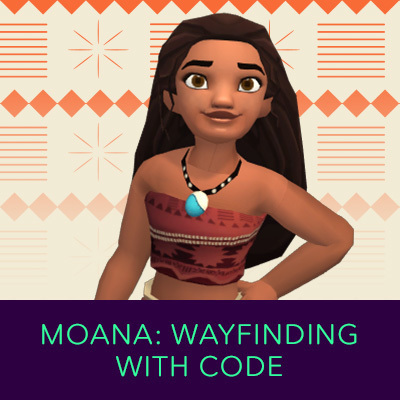 Hero Stream - Hour Of Code - Moana
