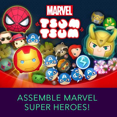 Tsum Tsum - Marvel