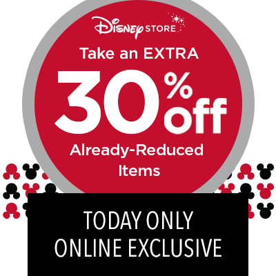 30% off at Disney Store