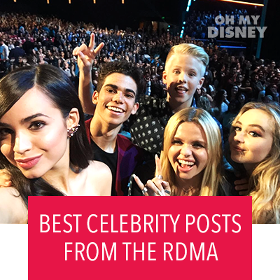 THE BEST CELEBRITY POSTS FROM THE RADIO DISNEY MUSIC AWARDS