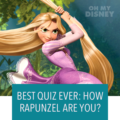 How Rapunzel Are You?