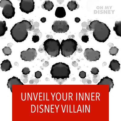 Disney Villain Inkblot Test