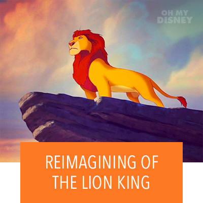 JON FAVREAU ANNOUNCES UPCOMING REIMAGINING OF THE LION KING