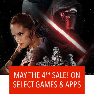 Star Wars May the 4th Sale!