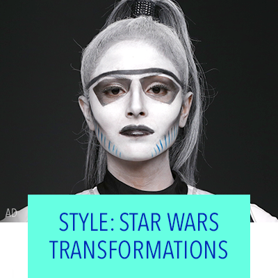 THESE STAR WARS TRANSFORMATIONS ARE PERFECT FOR HALLOWEEN