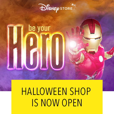 Disney Store's Halloween Shop Is Now Open