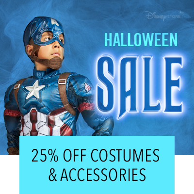 Halloween Shop 25% Off Costumes and Accessories