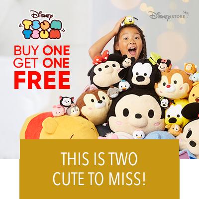 Tsum Tsum! Buy One, Get One Free