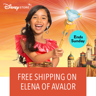 Free Shipping on Elena of Avalor